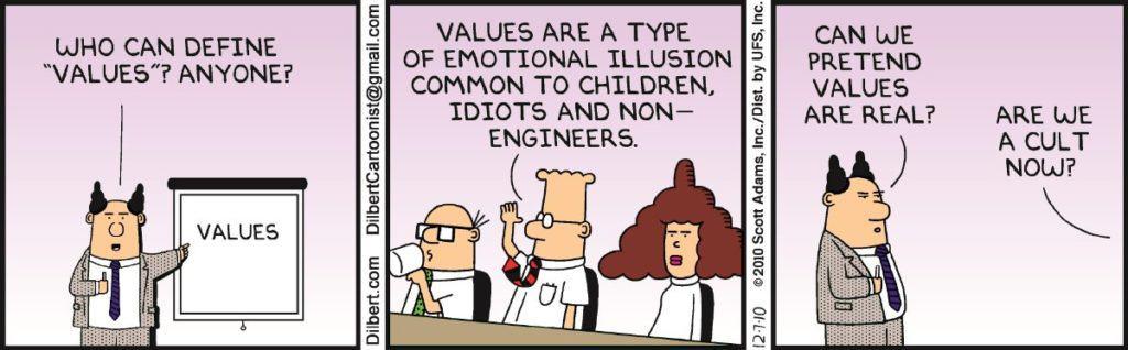 Value cartoon